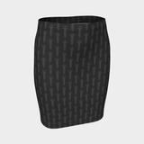 SCREW PENCIL SKIRT-XS-Dustrial
