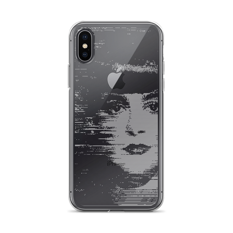 RACHAEL GLITCH IPHONE CASE-Dustrial-future-fashion-scifistreet-IPHONE CASE-iPhone X-