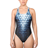 RUBICON BLUE ONE-PIECE SWIMSUIT-XS-Dustrial