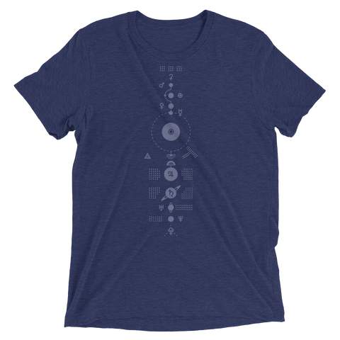 SOLARIS UNISEX TRI-BLEND T-SHIRT-Dustrial-future-fashion-scifistreet-TRIBLEND BC-XS-
