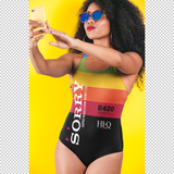 VHS SORRY ONE-PIECE SWIMSUIT-XS-Dustrial