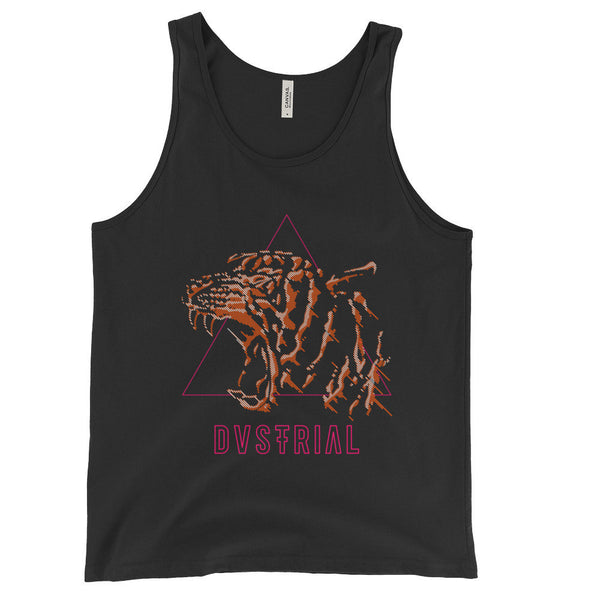 TIGERBEAT UNISEX TANK TOP-Dustrial-future-fashion-scifistreet-UNI TANK TOP BELLA-XS-