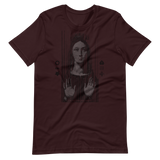 VIRGIN WITH FROWN GRAPHIC T-SHIRT