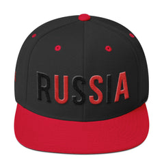 USSA SNAPBACK-Dustrial-future-fashion-scifistreet-HAT-YUP-S-Black/ Red-