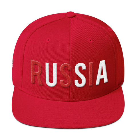 USSA SNAPBACK-Dustrial-future-fashion-scifistreet-HAT-YUP-S-Red-