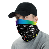 VHS RETROGRADE NECK GAITER MASK-Dustrial