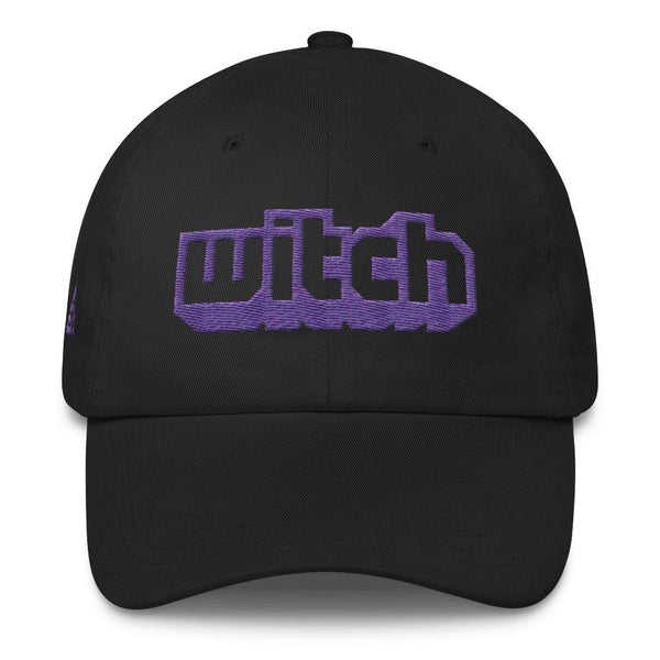 WITCH DAD HAT-Dustrial-future-fashion-scifistreet-HAT-YUP-DAD-Black-