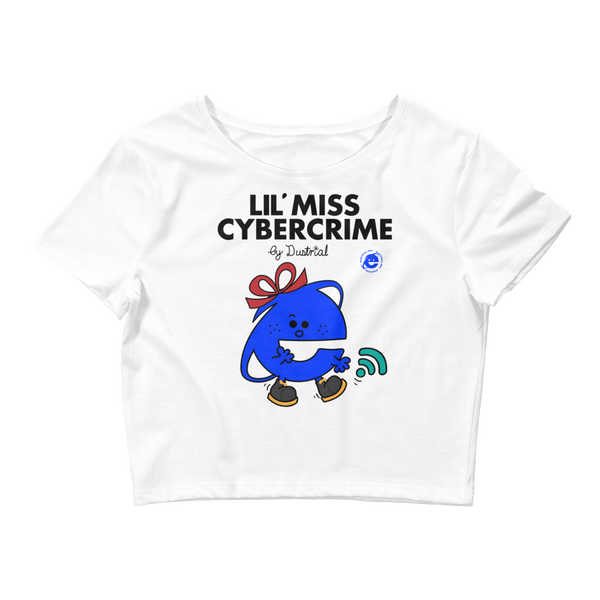 LIL MISS CYBERCRIME CROP TOP