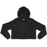 NONE ABOVE E CROP HOODIE