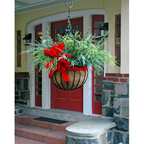 "Imperial Classic Hanging Planter with 18"" Liner - Henderson Garden Supply"