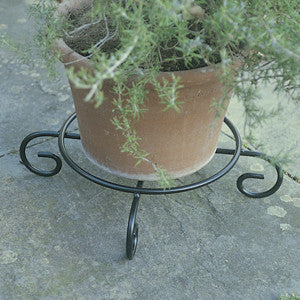 "Set of 5 12"" STEEL POT STAND"