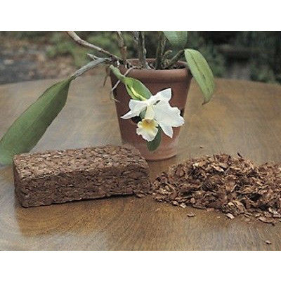 Coir Coco Coconut Husk Chip Bricks for Orchids Growing Medium Case of 24 - Henderson Garden Supply