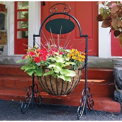 Welcome Cauldron Planter Basket- Entry way planter - Henderson Supply - 1