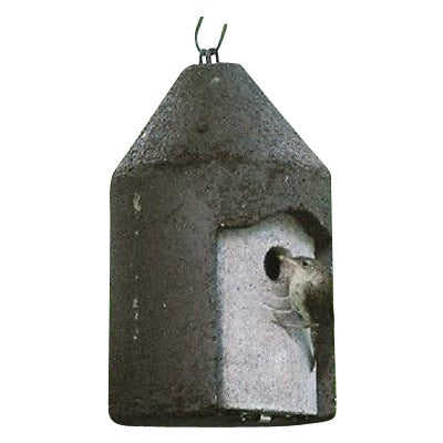 "Schwegler Birdhouse 1"" Opening Tree Trunk Wren House - Henderson Garden Supply"