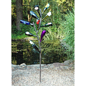 Wine Bottle Tree - Henderson Garden Supply