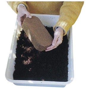 Coir Coco Coconut Fiber Bricks Planting Medium Case of 24 - Henderson Garden Supply