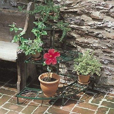 QUARTER-ROUND TIERED PLANT STAND - Henderson Supply - 1