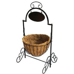 Welcome Cauldron Planter Basket- Entry way planter - Henderson Supply - 2