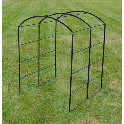 Classic Monet Steel Expandable Pergola Arbor - Henderson Garden Supply
