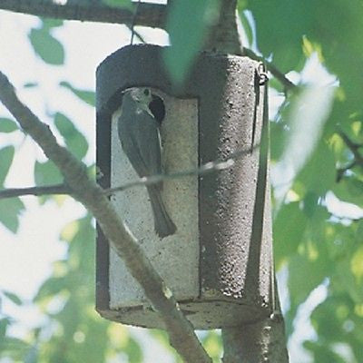 "Schwegler Birdhouse 1 1/2"" opening tree trunk birdhouse - Henderson Supply - 2"