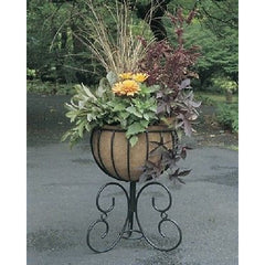 "14"" CLASSIC URN INCLUDING COCO LINER Free Standing Planter - Henderson Supply - 1"