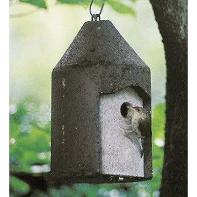 "Schwegler Birdhouse 1"" opening tree trunk Wren House - Henderson Supply"