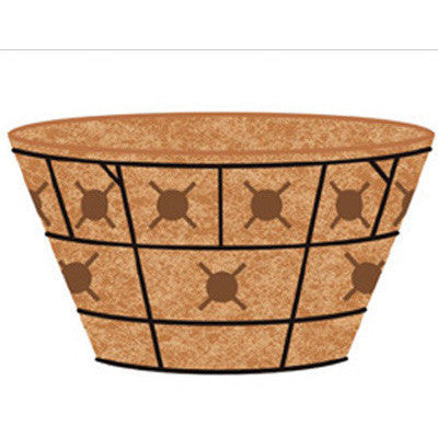"16"" Double Tier Basket Replacement Liner Pamela Crawford - Henderson Supply - 2"