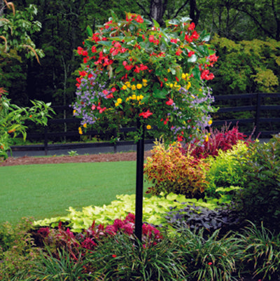 Pamela Crawford Border Column Kit With Metal Post - Henderson Garden Supply