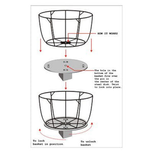 "Pamela Crawford 9"" Gripping Disk Assembly Instructions - Henderson Garden Supply"