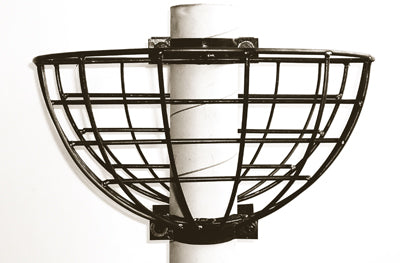 "16"" Lamppost Hayrack Planter Euro Classic (Residential) - Henderson Garden Supply"