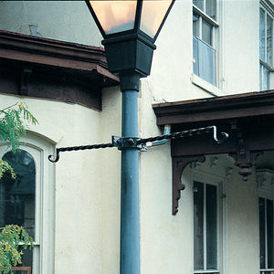 "Lamppost bracket Euro Classic for 3""-4""D Lampposts - Henderson Garden Supply"