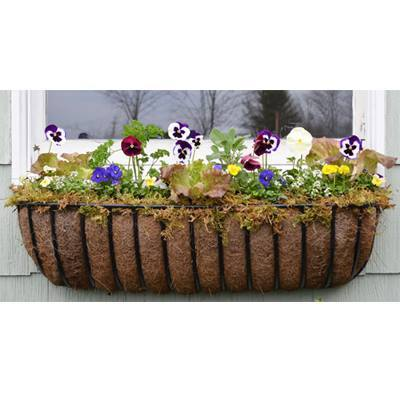 "Hayrack Classic Window box 24"" - Henderson Garden Supply"