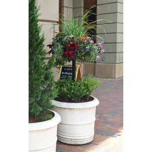 Pamela Crawford's Basket Column for Large Pots - Henderson Supply