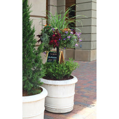 PAMELA CRAWFORD'S BASKET COLUMN FOR LARGE POTS - Henderson Supply - 1