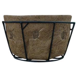 Pamela Crawford Single Tier Basket Planter and Liner Sets for Side Planting - Henderson Garden Supply