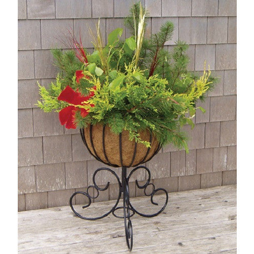 "14"" CLASSIC URN INCLUDING COCO LINER Free Standing Planter - Henderson Supply - 2"