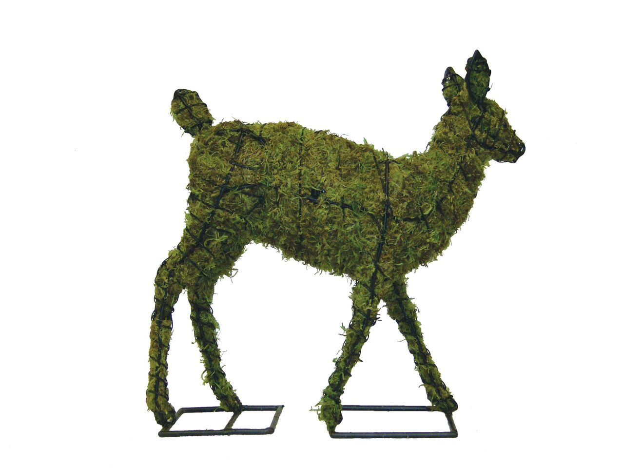 "Fawn 27"" Moss Topiary Sculpture"