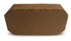 Coir Coconut fiber brick growing medium.  Great growing medium for orchids - Henderson Garden Supply