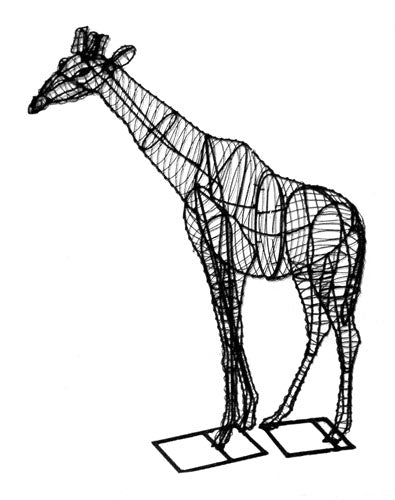 Giraffe topiary frame - Henderson Garden Supply