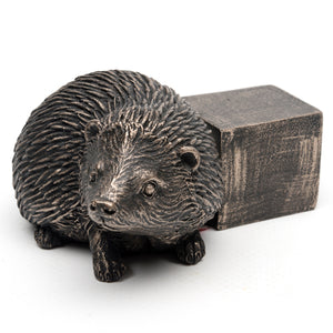 Bronze Hedgehog Flower Pot Feet Gift Set - Henderson Garden Supply