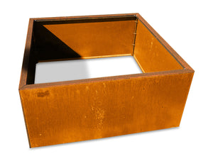CorTen Steel Modular Raised Garden Bed Planter - Henderson Garden Supply