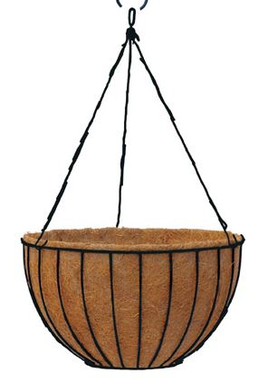 Heavy duty hanging or sitting basket 24 inch - Henderson Garden Supply