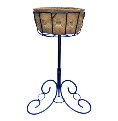 Pamela Crawford Side Planting Patio Stand and Liner Set - Henderson Garden Supply