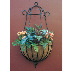 "Peacock Wall Planter in 16"" and 22"" diameter - Henderson Garden Supply"