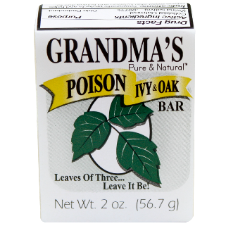 Grandma's Poison Ivy and Oak Bar 12 pack