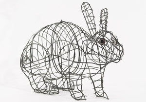 Running Rabbit Wire Topiary Frame - Henderson Garden Supply