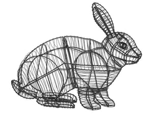 Hopping Rabbit topiary frame - Henderson Garden Supply