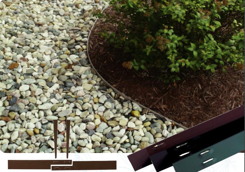 Sure-Edge Bulk Steel Edging for Commercial and Residential Applications - Henderson Garden Supply