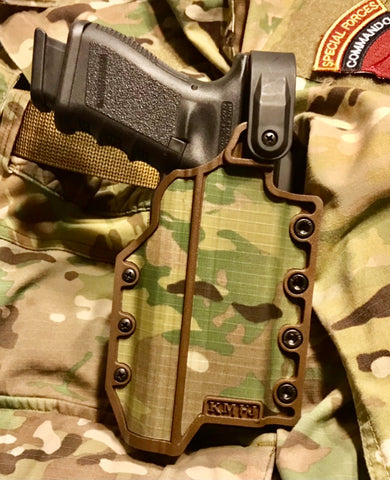 KMFJ-DA-LVL2 (MULTICAM) with KMFJ BA, Belt Adapter