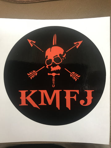 KMFJ LOGO STICKER